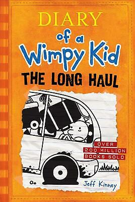 The Long Haul (Diary of a Wimpy Kid #9) by Jeff Kinney (English) Hardcover Book