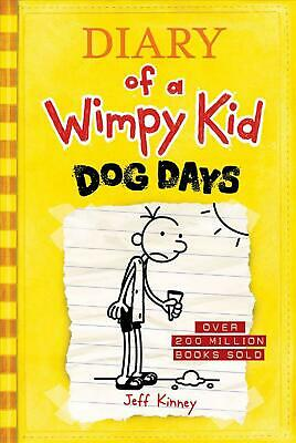 Dog Days (Diary of a Wimpy Kid #4) by Jeff Kinney (English) Hardcover Book Free