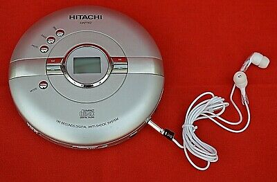 Hitachi Personal Cd Player: Model Number  Dap762   - Full Working Condition!