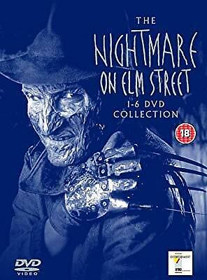 The Nightmare On Elm Street 1-6 Collection (Six Disc Box Set) [DVD], , Used; Goo