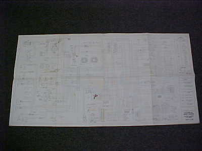 1970 Original Cadillac Eldorado Electrical Wiring Diagram Service Manual 70 Oem