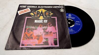 SPACE 'Magic Fly' 7-Inch Single Spain Release In Picture Cover - Y96