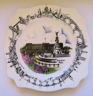 Vintage Buckingham Palace There'll Always be an England Souvenir Plate Wilkinson