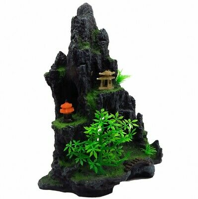 Aquarium Poisson Rock Formation Ornement Grotte Décoration 30CM