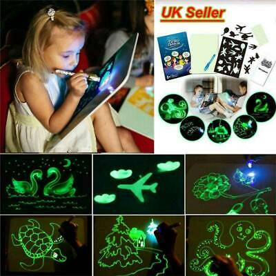 1PC Draw With Light Fun And Developing Toy Drawing Board Magic Draw Educational