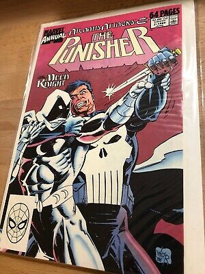 Annual #2 Marvel Comics 1989 Bagged and Boarded C2136 The Punisher