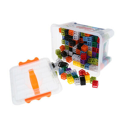 Early Education Linking Counting Cubes Snap Blocks Manipulative Math Kids