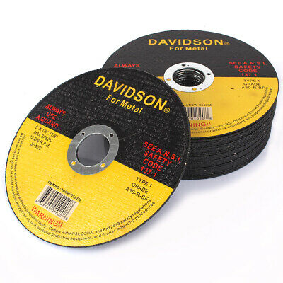 """125mm 5"""" Resin Cutting Discs Metal Cut Off Grinding Wheel Blade For Angle Ginder"""