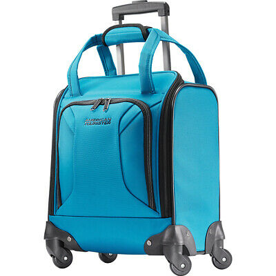 "American Tourister Zoom 15"" Carry-On Underseat Spinner Softside Carry-On NEW"