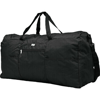 Samsonite Foldaway Duffle XL - Black Packable Bag NEW