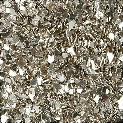 30g Large Glitter Flakes Silver Cardmaking Scrapbooking Table Scatter