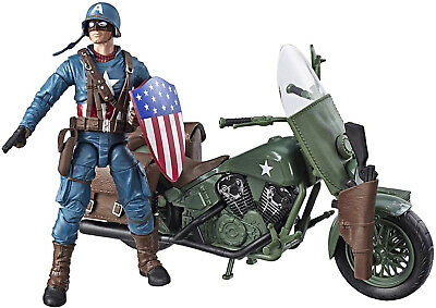 Marvel Legends Series 6-Inch Captain America Collectible Action Figure Toy Gift