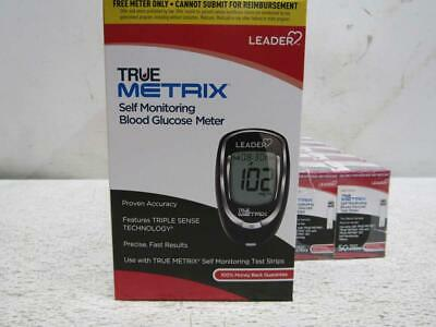1 Case Of Trividia True Metrix Blood Glucose Meter And Test Strip Kit, RE4002-75