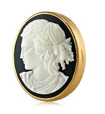 TIMELESS CAMEO Estee Lauder Solid Perfume Compact 2010 Empty with Tag