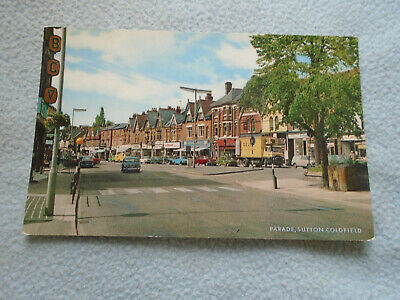 Vintage Postcard The Parade Sutton Coldfield