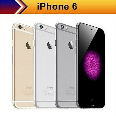 Apple iPhone 6 - 16GB / 64GB - Unlocked SIM Free Smartphone UK - Various Colours