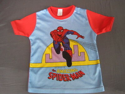 Boy's MARVEL SPIDERMAN Vintage 1980 collector t-shirt 5/6 (9/10 but very small..