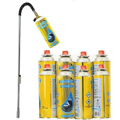 Outdoor Garden Weed Burner Killer Wand Butane Gas Blowtorch Weeds Moss Fungus
