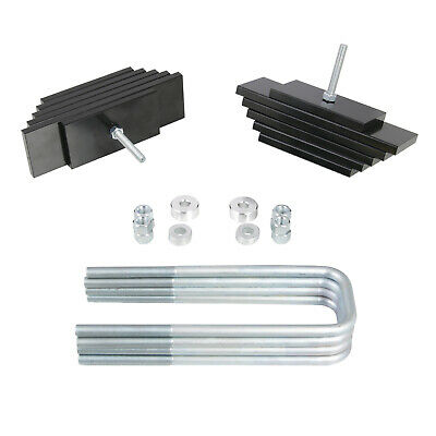 """Ford 99-04 F250 F350 SuperDuty Excursion 4WD 3.5/""""//2.0/"""" Lift Front//Rear Single Wh"""