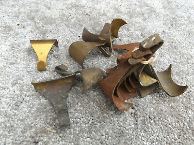 ANTIQUE IRON PICTURE RAIL MOULDING HANGING WALL HOOKS PHOTO FRAME HANGING x 14