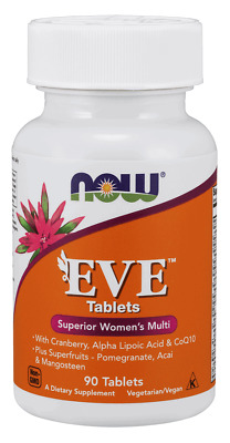 NOW FOODS Eve Superior Women's Multi 90 Tablets FREE WORLDWIDE SHIPPING