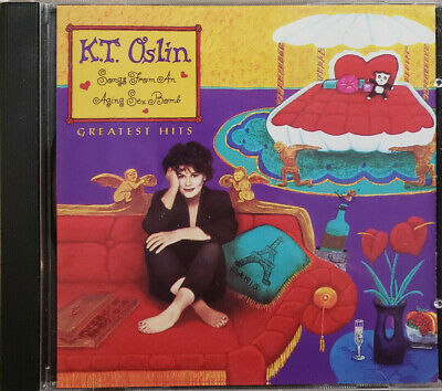 K.T. Oslin Greatest Hits Songs From An Aging Sex Bomb CD Very Good Ships Free