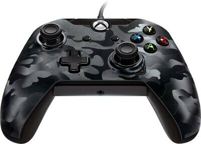 PowerA Wired Stealth Controller for Xbox One - Black Camo