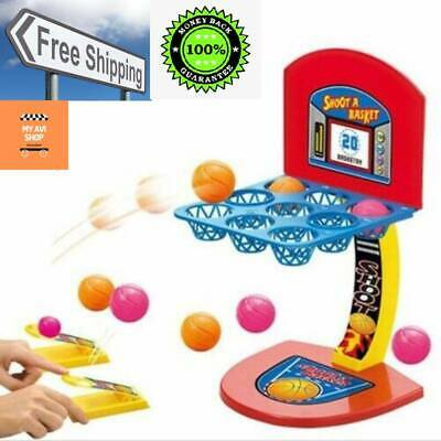 Mini Basketball Shooting Kids Toys Party Game Board Game Desktop Kit for Childre