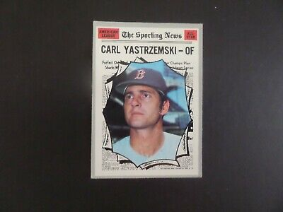 1970 Topps Carl Yastrzemski Red Sox All Star Card Ex #461  Bv $10.00 #1739