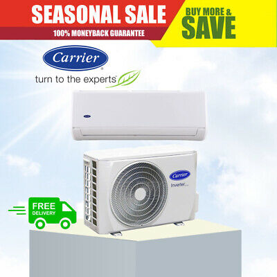 CARRIER 9.2kW Cool 9.8kW Air Conditioner - 5 Year Warranty - Split System