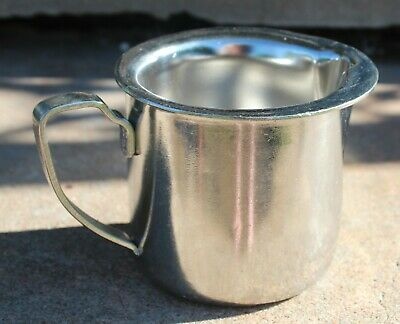 Vintage Legion Utensils Stainless Steel Creamer Restaurant Ware