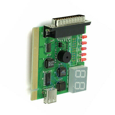 USB PCI PC Motherboard Notebook Display Desktop Diagnostic Card With Light Post