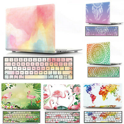 """Multicolored Pattern Hard Protective Skin Case for App MacBook air pro 13"""" 13.3"""""""