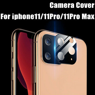 For iPhone11/11Pro/11Pro Max Camera Lens 3D Full Cover Protection Tempered Glass