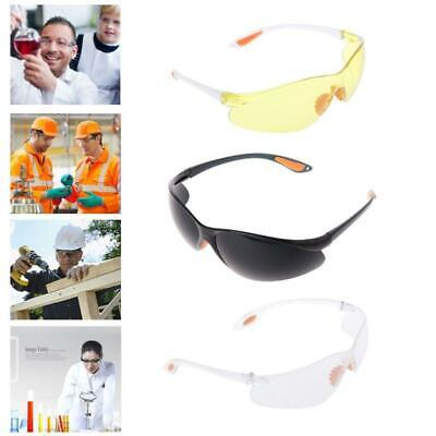 Eye Protection Protective Safety Riding Goggles Vented Glasses Work Lab New