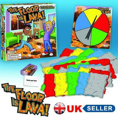 The Floor is Lava! Interactive Board Game for Kids Adults Gift (Ages 5+) Fun UK