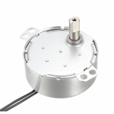 Synchronous Motor Turntable Synchron Motor 220-240 VAC 50/60Hz 4W CCW 2-2.4RPM