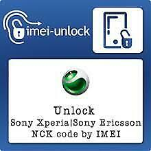 Unlock Code Service Sony Xperia All Models Worldwide