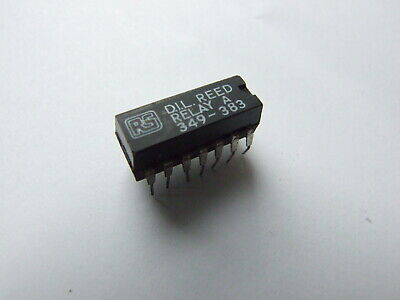 RS Miniature DIL Reed Relay 349-383