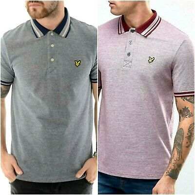 Lyle and Scott Stripe Short Sleeve polo Shirts For Men's //// All Seasons