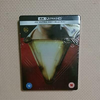 Shazam 4K Uhd Blu Ray Steel Book Japanese Recording Limited Edition Series