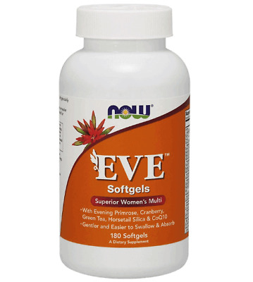 NOW FOODS Eve Superior Women's Multi 180 Softgels FREE WORLDWIDE SHIPPING