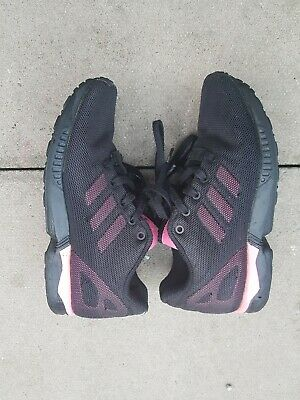 Girls Kids Adidas Zx Flux Trainers Size Uk 1
