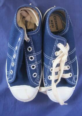 Vintage Converse USA Fast Break Youth Blue Oxford  Sneaker Size 12 70's Box NOS