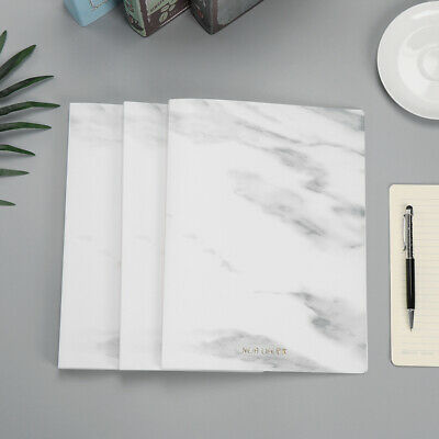 Marble Pattern Multi-Layer File Folde Paper Protectors Office Bag File Holder