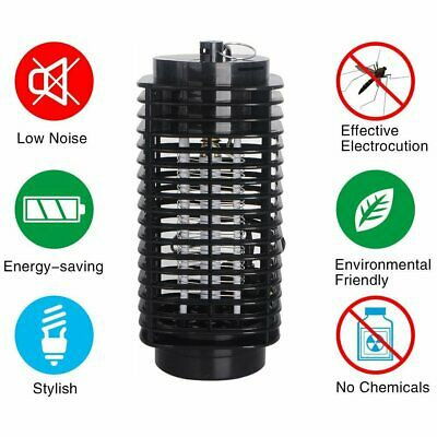 Electric UV Light Mosquito Killer Fly Insect Pest Bug Catcher Trap LED Lamp Home