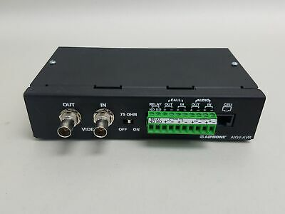 Aiphone AXW-AVR Audio and Video Receiver for AX Series