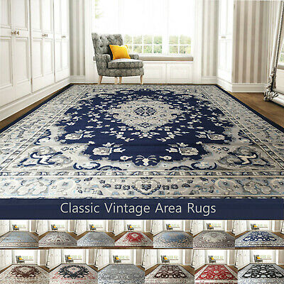 Large Classic Vintage Area Rugs For Living Room Small Medium Large Rug Carpet