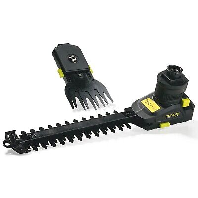 Genius - Rocket Fix Attachment 3-tlg. Hedge Trimmer and Lawn Trimmer 11246