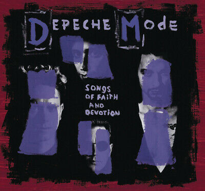 Depeche Mode : Songs of Faith and Devotion CD Collector's  Album with DVD 2